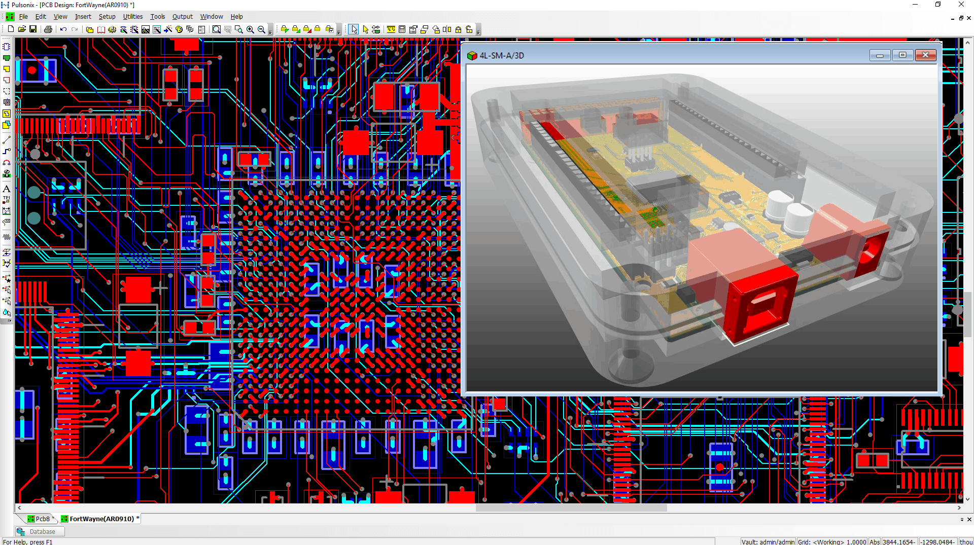 Pulsonix Solutions For Pcb Design Including Schematic Capture Board Layout And Autorouter Image