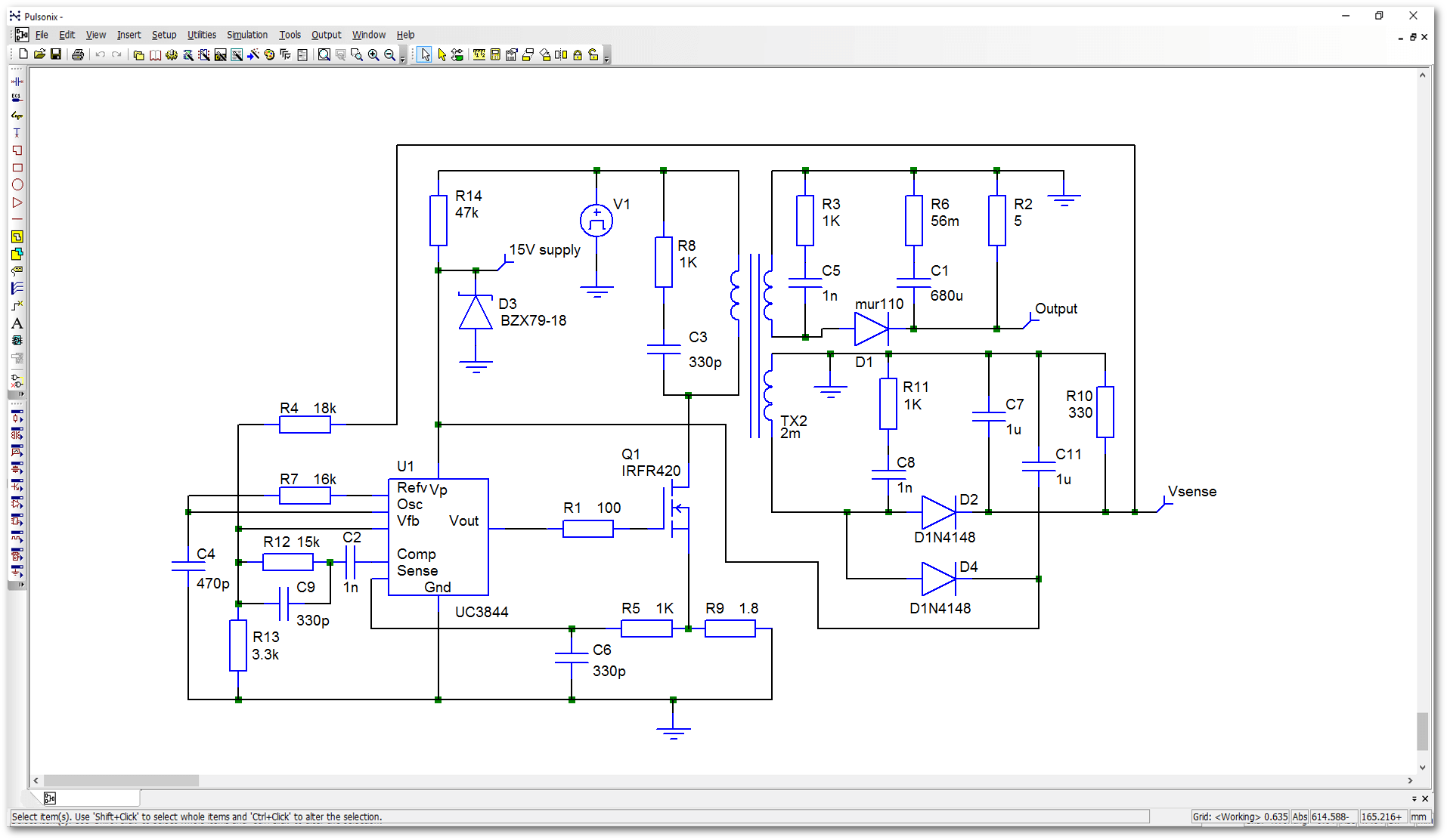Pulsonix | Solutions on digital electronics, logic synthesis, electronic design automation, schematic editor,